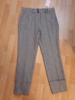 Alba Moda Spodnie materiałowe biały-czarny