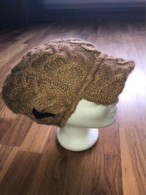 Burton Sombrero de punto color bronce