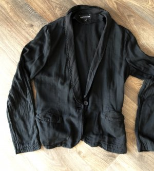 European Culture Boyfriend Blazer black