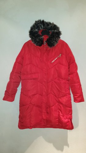 unknown Manteau matelassé rouge polyester