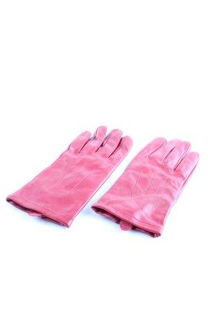 Marks and Spencer Guanto in pelle rosa elegante