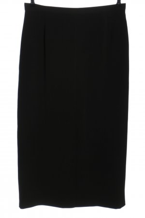 Marks and Spencer Maxirock schwarz Business-Look