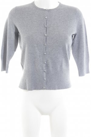 Marks and Spencer Strick Cardigan hellgrau meliert Casual-Look