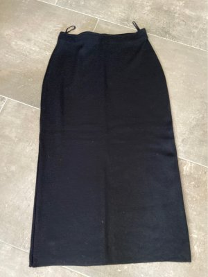 Marks and Spencer Knitted Skirt black