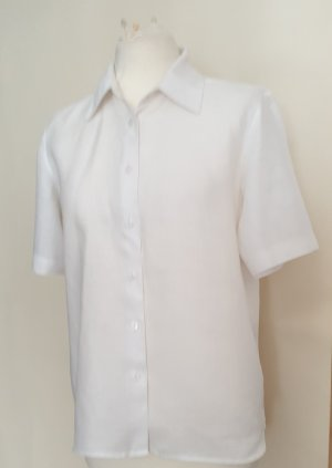 Marks & Spencer Linen Blouse white linen