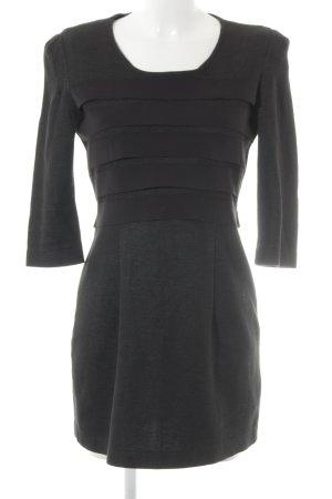 Markus Lupfer Longsleeve Dress taupe-black business style