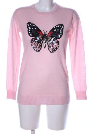 Markus Lupfer Rundhalspullover pink Casual-Look