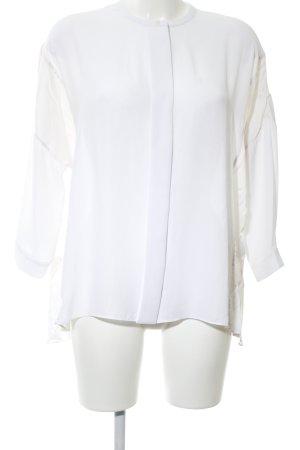 Marlene Birger Long Sleeve Blouse white business style