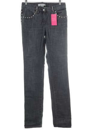 Marlene Birger Straight Leg Jeans multicolored extravagant style