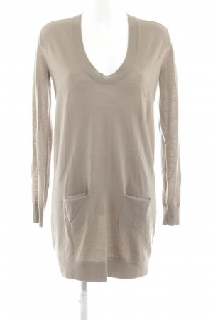Marlene Birger Strickkleid creme Casual-Look