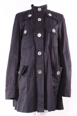by Malene Birger Trench Coat black cotton