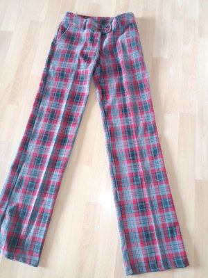 Benetton Woolen Trousers multicolored