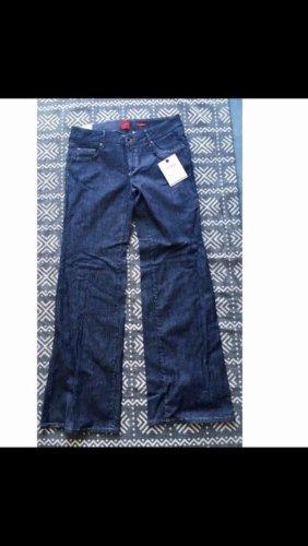 Vero Moda Jeans large bleu-bleu foncé