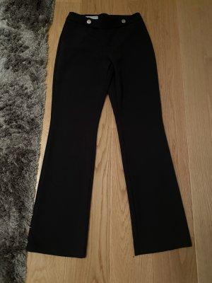 Rinascimento Spodnie Marlena czarny-złoto