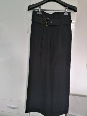 Spodnie Marlena czarny-ciemnoniebieski