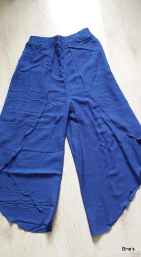 Aus Indien Spodnie Marlena niebieski Bawełna