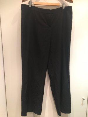 Hugo Boss Spodnie Marlena czarny-ciemnoniebieski