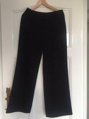 Pantalon Marlene noir-blanc