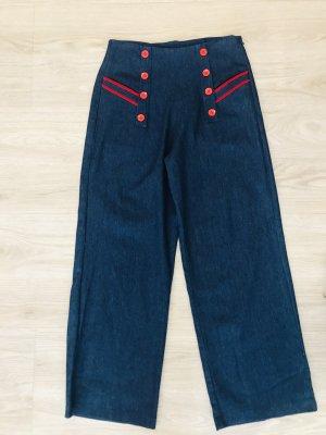 Küsten Luder Jeans marlene blu Cotone