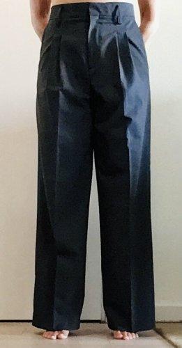 Zara Basic Marlene Trousers dark grey viscose