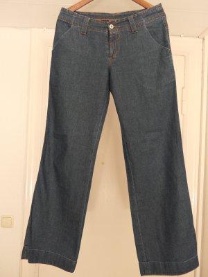 Marc O'Polo Spodnie Marlena szary niebieski