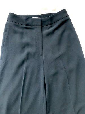 H&M Pantalón anchos petróleo Poliéster