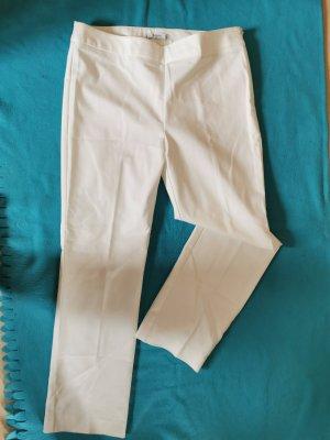 Mango Marlene Trousers white