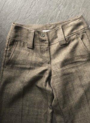 H&M Basic Pantalon Marlene brun foncé-chameau