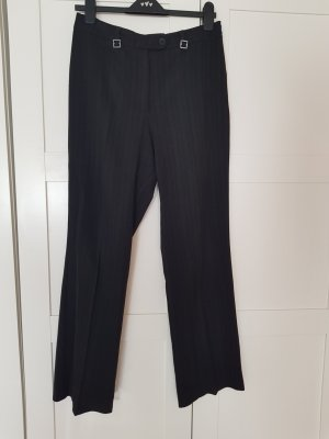 Jersey Pants black-silver-colored