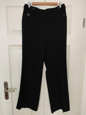 123 Paris Spodnie materiałowe czarny