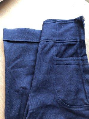 Collectif Marlene Trousers dark blue