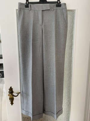 H&M Pantalon Marlene gris clair polyester