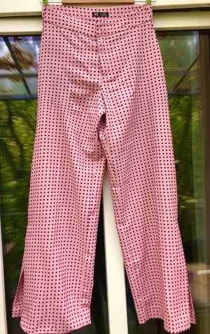 Trf by Zara Marlene Dietrich broek roze-zwart