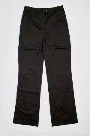 H&M Pantalone Marlene nero Cotone