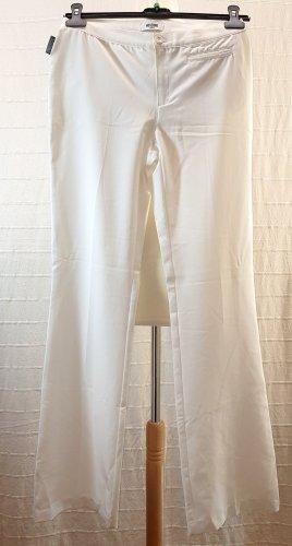 Moschino Spodnie Marlena biały