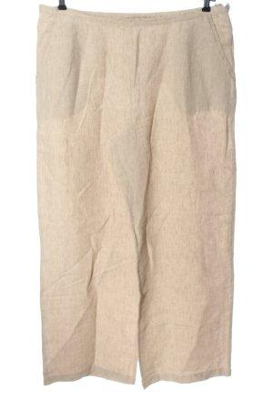 Marlies Mithöfer Pantalón de lino nude look casual