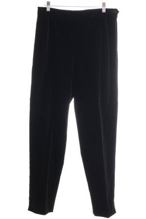 Marly's Anzughose schwarz Casual-Look