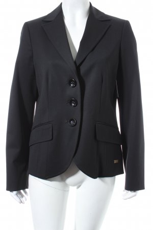 Marly's Woll-Blazer schwarz Business-Look