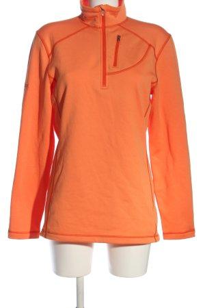 Marmot Pullover in pile arancione chiaro stile casual