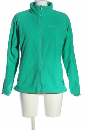Marmot Pullover in pile turchese stile casual