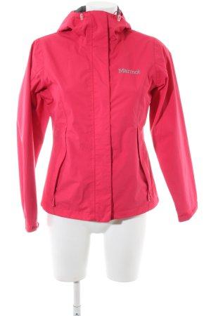 Marmot Outdoorjacke pink Schriftzug gestickt sportlicher Stil