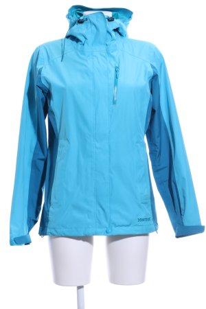 Marmot Regenjacke blau Casual-Look