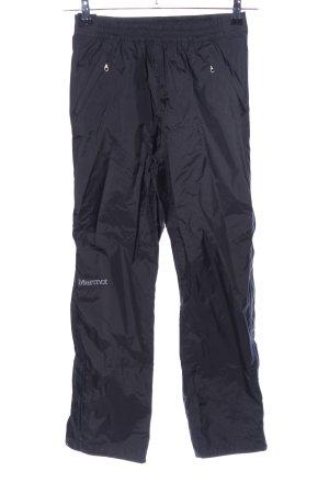 Marmot Pantalón de esquí negro look casual