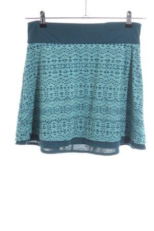 Marmot Stretchrock türkis-blau grafisches Muster Casual-Look