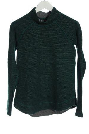 Marmot Maglione lavorato a maglia verde stile casual