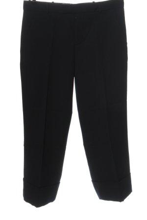 Marni Pantalon de costume noir style décontracté
