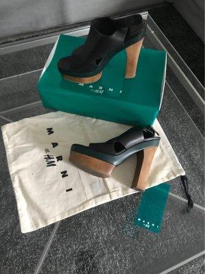 Marni at H&M Leder Heels 38 Minimal