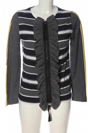 Marni at H&M Shirt Jacket striped pattern casual look