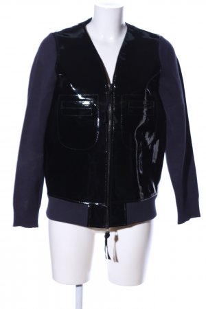 Marni at H&M Übergangsjacke schwarz-blau extravaganter Stil