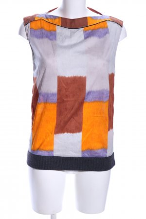 Marni Blouse topje abstract patroon casual uitstraling